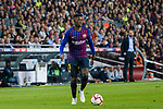 Ousmane Dembele of FC Barcelona in action during the La Liga 2018-19 match between FC Barcelona and Sevilla FC at Camp Nou Stadium on October 20 2018 in Barcelona, Spain. Photo by Vicens Gimenez / Power Sport Images