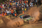8th June 2017, Alghero, West Coast of Sardinia, Italy; WRC Rally of Sardina;  Veiby