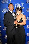LOS ANGELES - JUN 20: Suren Wijeyaratne, Denise Tontz at The 41st Daytime Creative Arts Emmy Awards Gala in the Westin Bonaventure Hotel on June 20th, 2014 in Los Angeles, California