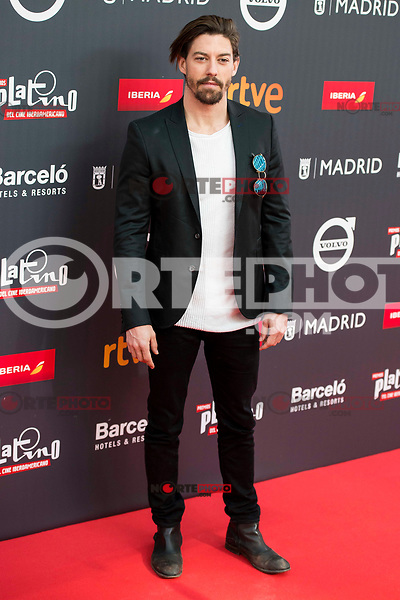 "Adrian Lastra attends to the presentation of the ""Premios Platino"" at Palacio de Cristal in Madrid. April 07, 2017. (ALTERPHOTOS/Borja B.Hojas) (NortePhoto.com)"
