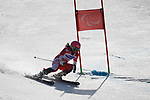 Ammi Hondo (JPN), <br /> MARCH 14, 2018 - Alpine Skiing : <br /> Women's Giant Slalom Standing <br /> at Jeongseon Alpine Centre  <br /> during the PyeongChang 2018 Paralympics Winter Games in Pyeongchang, South Korea. <br /> (Photo by Sho Tamura/AFLO SPORT)