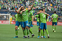 SEATTLE, WA - NOVEMBER 10:  during a game between Toronto FC and Seattle Sounders FC at CenturyLink Field on November 10, 2019 in Seattle, Washington.