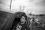 Henry L. Irvin Sr., a lifetime New Orleans resident and 55 year veteran of the lower 9th Ward.. He is moving back as soon as he can despite the fact that he believes the federal government, which has offered him no  support in his efforts to clean the area, does not want him to..
