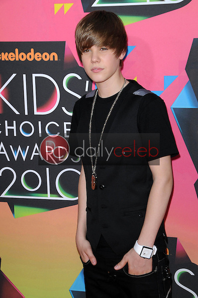 Justin Bieber<br /> at the Nickelodeon's 23rd Annual Kids' Choice Awards, UCLA's Pauley Pavilion, Westwood, CA 03-27-10<br /> David Edwards/DailyCeleb.com 818-249-4998