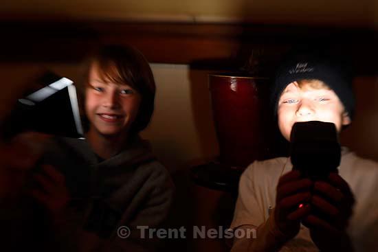 August Granath, Eric Unruh. Salt Lake City - Noah's 11th birthday party; 1.15.2007