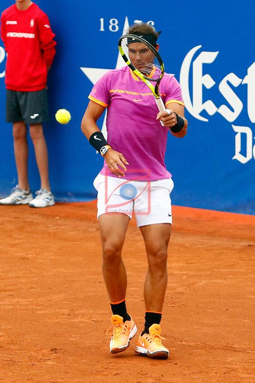 65e Trofeu Conde de Godo.<br /> Barcelona Open Banc Sabadell.<br /> Rogerio Dutra Silva (BRA) vs Rafa Nadal (ESP): 1-6, 2-6.