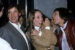 Mike Palin, Shelley Duvall, and Terry Gilliam at the premiere party of 'Time Bandits' on November 14, 1981.