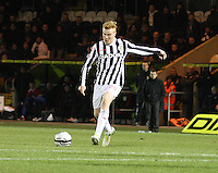 Conor Newton in the St Mirren v Inverness Caledonian Thistle Clydesdale Bank Scottish Premier League match played at St Mirren Park, Paisley on 30.1.13.