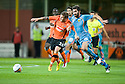 19/08/2010   Copyright  Pic : James Stewart.sct_jsp005_dundee_utd_v_aek_athens  .:: DAVID GOODWILLIE HOLDS OFF MAKOS GRIGORGIS :: .James Stewart Photography 19 Carronlea Drive, Falkirk. FK2 8DN      Vat Reg No. 607 6932 25.Telephone      : +44 (0)1324 570291 .Mobile              : +44 (0)7721 416997.E-mail  :  jim@jspa.co.uk.If you require further information then contact Jim Stewart on any of the numbers above.........