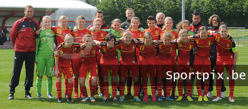 U 15 Belgian Red Flames - Virginia USA :<br /> <br /> Team U15 Belgian Red Flames<br /> <br /> foto Dirk Vuylsteke / Nikonpro.be