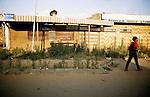 Street in Soweto. April 2009