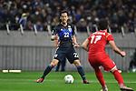 Maya Yoshida (JPN), Khaled Al Mobayed (SYR),<br /> MARCH 29, 2016 - Football / Soccer :<br /> FIFA World Cup Russia 2018 Asian Qualifier Second Round Group E match between Japan 5-0 Syria at Saitama Stadium 2002 in Saitama, Japan. (Photo by AFLO)