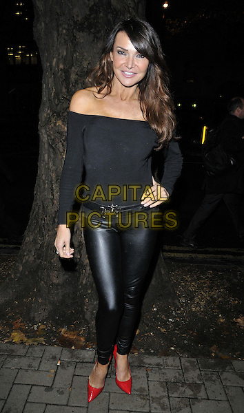LONDON, ENGLAND - NOVEMBER 03: Lizzie Cundy attends the &quot;Dance 'Til Dawn&quot; press night performance, Aldwych Theatre, Aldwych, on Monday November 03, 2014 in London, England, UK. <br /> CAP/CAN<br /> &copy;Can Nguyen/Capital Pictures