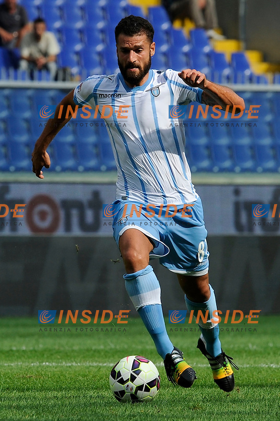 Antonio Candreva Lazio <br /> Genova 21-09-2014 Stadio Luigi Ferraris - Football Calcio Serie A Genoa - Lazio. Foto Insidefoto