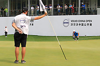 Jordan Smith (ENG) during the final round of the Volvo China Open played at Topwin Golf and Country Club, Huairou, Beijing, China 26-29 April 2018.<br /> 29/04/2018.<br /> Picture: Golffile | Phil Inglis<br /> <br /> <br /> All photo usage must carry mandatory copyright credit (&copy; Golffile | Phil Inglis)