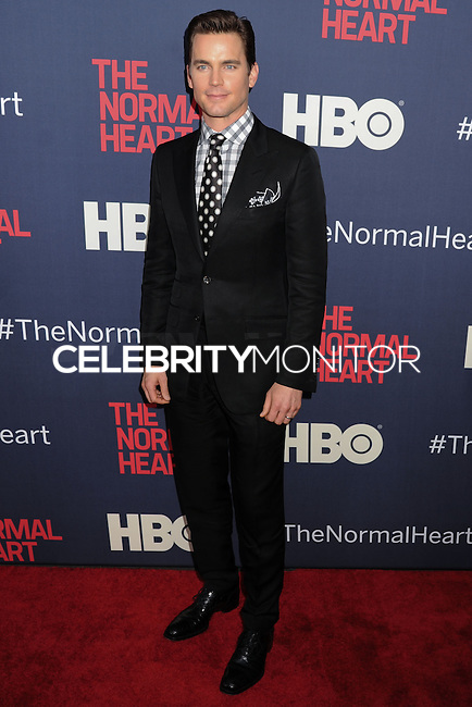 "NEW YORK CITY, NY, USA - MAY 12: Matt Bomer at the New York Screening Of HBO's ""The Normal Heart"" held at the Ziegfeld Theater on May 12, 2014 in New York City, New York, United States. (Photo by Celebrity Monitor)"