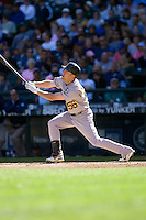 September 28, 2008: Oakland Athletics' Cliff Pennington at-bat during a game against the Seattle Mariners at Safeco Field in Seattle, Washington.