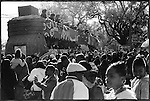 The 100th anniversary of the Zulu parade marches during Mardi Gras in New Orleans, Louisiana 2009.