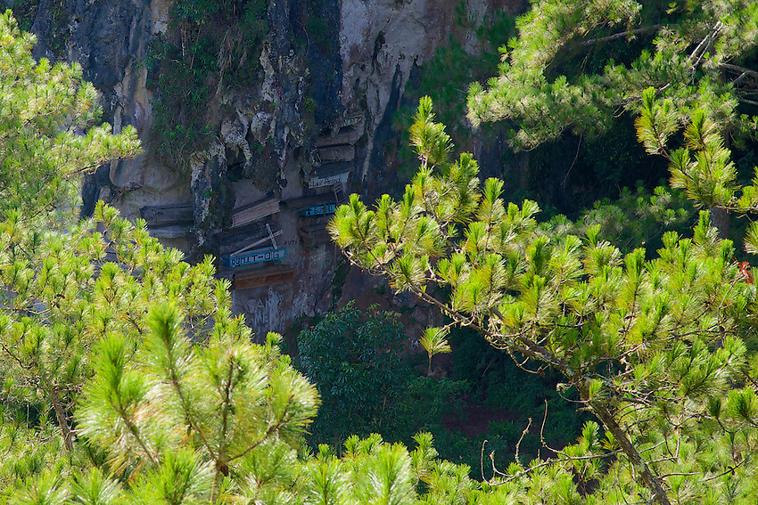 Sagada hanging coffins, Mountain Province, Philippines
