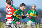 Alan Fitzgerald  Kerry in action against   Cork IT in the semi final of the McGrath Cup at John Mitchells Grounds on Sunday.