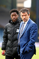 Southend United manager, Phil Brown seen during the Sky Bet League 1 match between Southend United and Fleetwood Town at Roots Hall, Southend, England on 13 January 2018. Photo by Carlton Myrie.