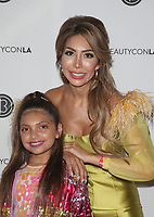 LOS ANGELES, CA - AUGUST 10: Sophia Abraham, Farrah Abraham, at Beautycon Festival Los Angeles 2019 - Day 1 at Los Angeles Convention Center in Los Angeles, California on August 10, 2019.  <br /> CAP/MPI/SAD<br /> ©SAD/MPI/Capital Pictures