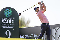 Oliver Wilson (ENG) on the 9th tee during the 1st round of  the Saudi International powered by Softbank Investment Advisers, Royal Greens G&CC, King Abdullah Economic City,  Saudi Arabia. 30/01/2020<br /> Picture: Golffile | Fran Caffrey<br /> <br /> <br /> All photo usage must carry mandatory copyright credit (© Golffile | Fran Caffrey)