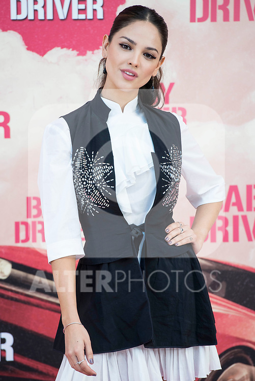 Mexican actress Eiza Gonz&aacute;lez attends to the presentation of the film 'Baby Driver' at Villa Magna Hotel in Madrid, June 23, 2017. Spain.<br /> (ALTERPHOTOS/BorjaB.Hojas)