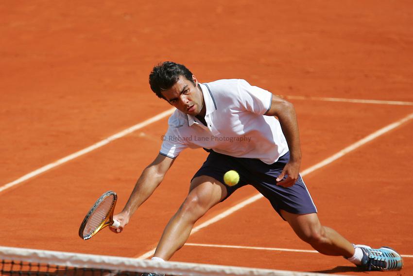 Photo: Iconsport/Richard Lane Photography..French Open, Roland Garros 2007. 31/05/2007..Novak Djokovic.