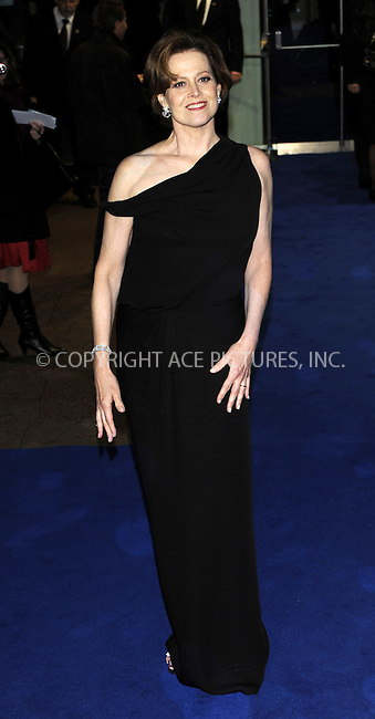WWW.ACEPIXS.COM . . . . .  ..... . . . . US SALES ONLY . . . . .....December 10 2009, London....Sigourney Weaver arriving at the World Premiere of Avatar at Odeon Leicester Square on December 10, 2009 in London, England. ......Please byline: FAMOUS-ACE PICTURES... . . . .  ....Ace Pictures, Inc:  ..tel: (212) 243 8787 or (646) 769 0430..e-mail: info@acepixs.com..web: http://www.acepixs.com