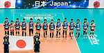 Team Japan during the FIVB Volleyball World Grand Prix - Hong Kong 2017 match between Japan and Russia on 23 July 2017, in Hong Kong, China. Photo by Yu Chun Christopher Wong / Power Sport Images