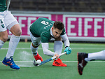 AMSTELVEEN - Tristan Algera (R'dam)   tijdens de hoofdklasse competitiewedstrijd heren, AMSTERDAM-ROTTERDAM (2-2). COPYRIGHT KOEN SUYK