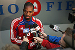 19 November 2010: Atiba Harris. FC Dallas held a practice at Toronto, Ontario, Canada as part of their preparations for MLS Cup 2010, Major League Soccer's championship game.