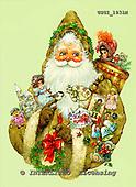 GIORDANO, CHRISTMAS SANTA, SNOWMAN, WEIHNACHTSMÄNNER, SCHNEEMÄNNER, PAPÁ NOEL, MUÑECOS DE NIEVE, nostalgic, paintings+++++,USGI1931M,#X# nostalgic,vintage