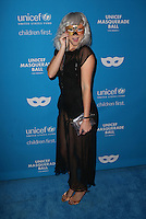 LOS ANGELES, CA - OCTOBER 27: Allie Gonino at the Fourth Annual UNICEF Masquerade Ball Los Angeles at Clifton's Cafeteria in Los Angeles, California on October 27, 2016. Credit: Faye Sadou/MediaPunch