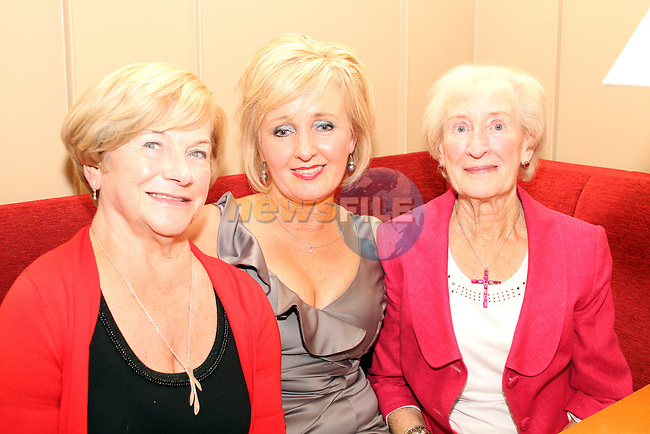 Anne McKeon with her mother in law Aggie McKeon and her mother Bridget Darby at her birthday in Harry's...(Photo credit should read Jenny Matthews www.newsfile.ie)....This Picture has been sent you under the conditions enclosed by:.Newsfile Ltd..The Studio,.Millmount Abbey,.Drogheda,.Co Meath..Ireland..Tel: +353(0)41-9871240.Fax: +353(0)41-9871260.GSM: +353(0)86-2500958.email: pictures@newsfile.ie.www.newsfile.ie.