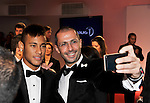 LAUREUS WORLD SPORTS AWARDS 2013, RIO DE JANEIRO, BRAZIL..AWARDS ARRIVALS AT THE THEATRO MUNICIPAL..NEYMAR..11-3-2013 PIC BY IAN MCILGORM
