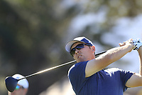 Seamus Power (IRL) tees off the 11th tee at Pebble Beach course during Friday's Round 2 of the 2018 AT&amp;T Pebble Beach Pro-Am, held over 3 courses Pebble Beach, Spyglass Hill and Monterey, California, USA. 9th February 2018.<br /> Picture: Eoin Clarke | Golffile<br /> <br /> <br /> All photos usage must carry mandatory copyright credit (&copy; Golffile | Eoin Clarke)
