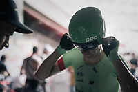 Pierre Rolland (FRA/Cannondale-Drapac) just finished his TT<br /> <br /> 104th Tour de France 2017<br /> Stage 20 (ITT) - Marseille › Marseille (23km)