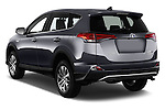 Car pictures of rear three quarter view of 2016 Toyota RAV4 Business Edition Plus 5 Door Suv Angular Rear