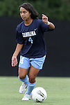 09 September 2011: North Carolina's Bianca Gray. The University of North Carolina Tar Heels defeated the University of North Carolina Greensboro Spartans 2-0 at Koskinen Stadium in Durham, North Carolina in an NCAA Division I Women's Soccer game.