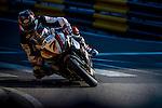 Gary Johnson races the Macau Motorcycle Grand Prix during the 61st Macau Grand Prix on November 15, 2014 at Macau street circuit in Macau, China. Photo by Aitor Alcalde / Power Sport Images