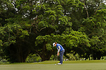 Supakchaya Pattaranakrueang of Thailand putts on the green during the first round of the EFG Hong Kong Ladies Open at the Hong Kong Golf Club Old Course on May 11, 2018 in Hong Kong. Photo by Marcio Rodrigo Machado / Power Sport Images