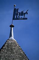 Europe/France/Ile-de-France/77/Seine-et-Marne/Gastins: Le moulin Choix - Détail du toit