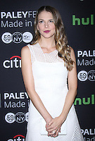 NEW YORK, NY - OCTOBER 10: Sutton Foster at PaleyFest New York's presentation of Younger at the Paley Center for Media in New York City on October 10, 2016. Credit: RW/MediaPunch