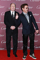 PALM SPRINGS, CA, USA - JANUARY 03: Robert Duvall, Robert Downey Jr. arrive at the 26th Annual Palm Springs International Film Festival Awards Gala Presented By Cartier held at the Palm Springs Convention Center on January 3, 2015 in Palm Springs, California, United States. (Photo by David Acosta/Celebrity Monitor)