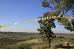 Israel, Shephelah, a view from Deir Rafat ?Our Lady Queen of Palestine and the Holy Land? Monastery