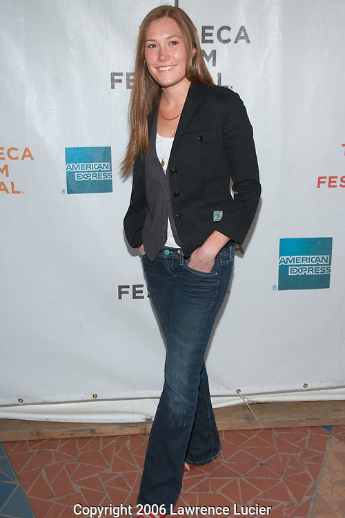 "Actress Schuyler Fisk arrives at the Tribeca Film Festival for the screening of the film ""I'm Reed Fish"" at Regal Cinemas Battery Park April 29, 2006 in New York City.. (Pictured : Schuyler Fisk)."