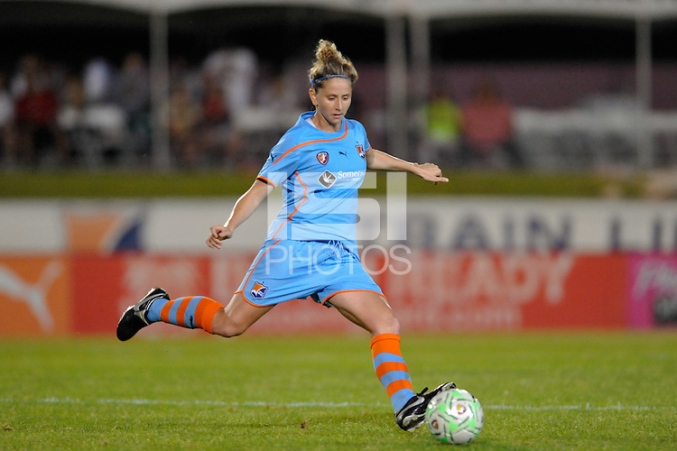 Carolyn Blank (31) of Sky Blue FC. Sky Blue FC defeated the Atlanta Beat 3-0 during a Women's Professional Soccer (WPS) match at Yurcak Field in Piscataway, NJ, on May 21, 2011.