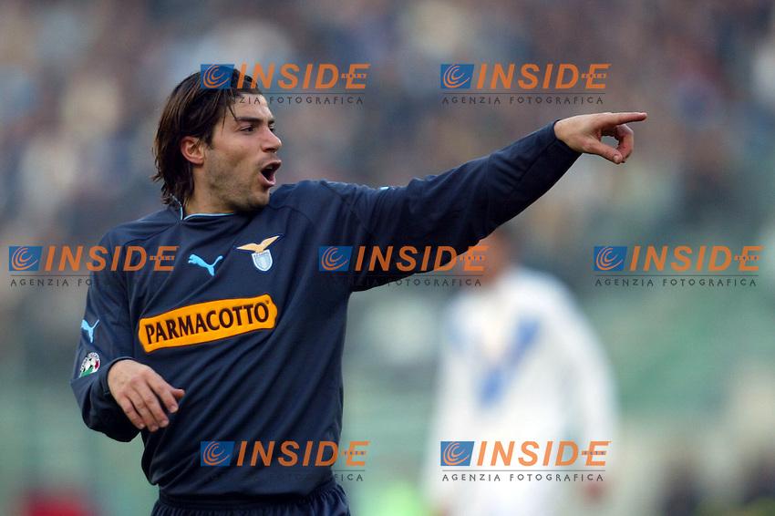 Roma 11/1/2004 <br /> Lazio Brescia 0-1 <br /> Giluiano Giannichedda (Lazio)<br /> Photo Andrea Staccioli Insidefoto
